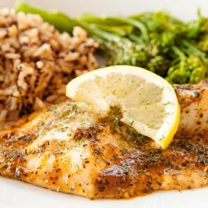 Valentine's Day Baked Fillet of Fish Recipe