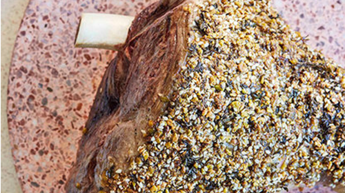 Dukkah Crusted Roast Lamb Recipe