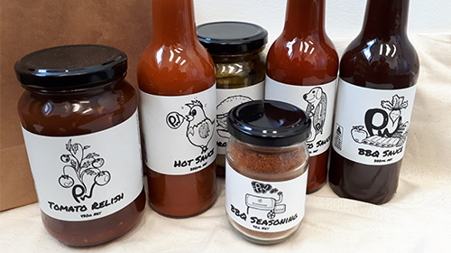 PW Condiments - From Paul to You