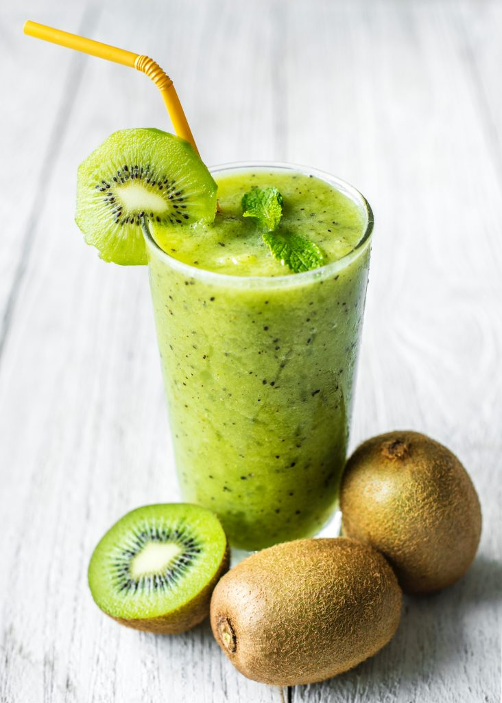 Kiwi and Apple Juice