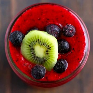 Triple Berry Kiwi Smoothie
