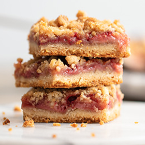 Strawberry Crumble Bars