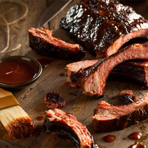 Sticky Pork BBQ Ribs Australia Day Recipe