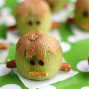 Franken-Kiwis Halloween Treats
