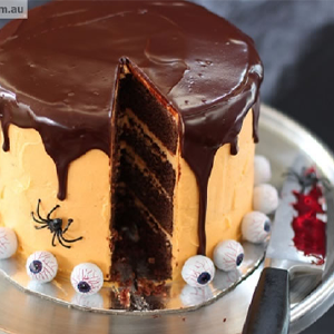 Chocolate Layer Cake Halloween Treats
