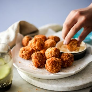 Mini Huon Salmon Cakes Recipe Snacks