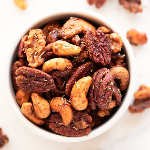 Spiced Nuts Recipe Snacks