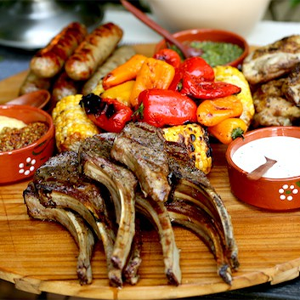 Australia Day Food Mixed Grill