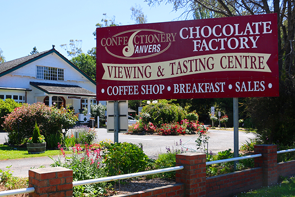 The House of Anvers Factory & Cafe in Latrobe
