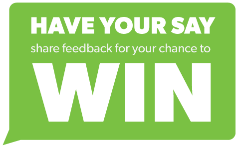 Share your Feedback to Win