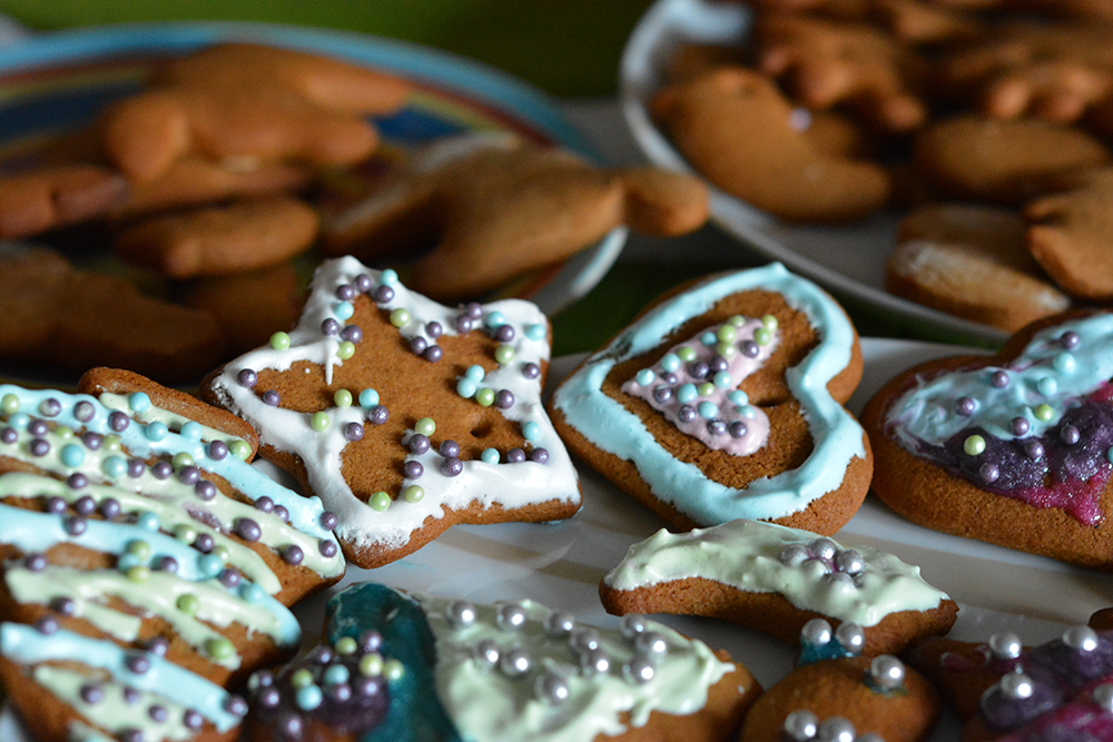 Homemade Gingerbread Oktoberfest